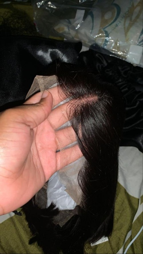 10 Inch Straight Frontal Wig