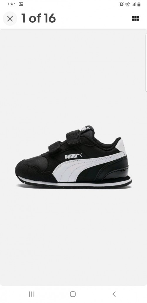 Boys Size 13c Puma Sneakers