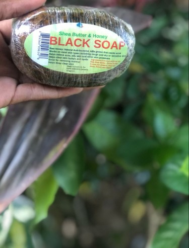 Black Soap(Shea Butter And Honey)