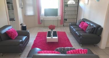 Good As New Modern Grey Sofa Set