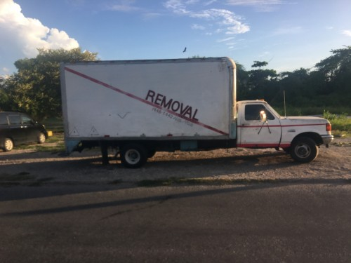 HIRE AND REMOVAL TRUCK