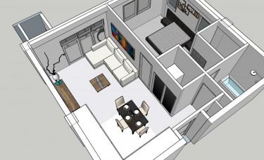 Modern 1bedroom Apartment