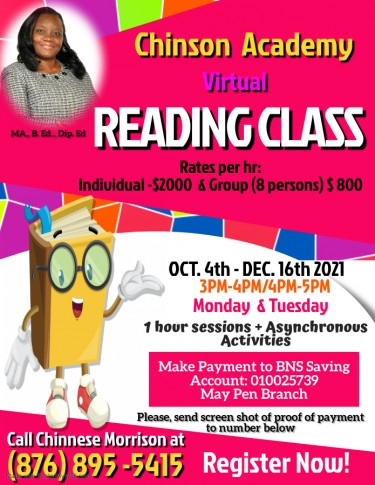 Chinson Academy Online Reading Class