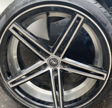 Rims And Tyre Will Trade For Mark X Stock Rims