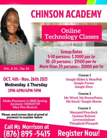 Chinson Academy Online Technology Class