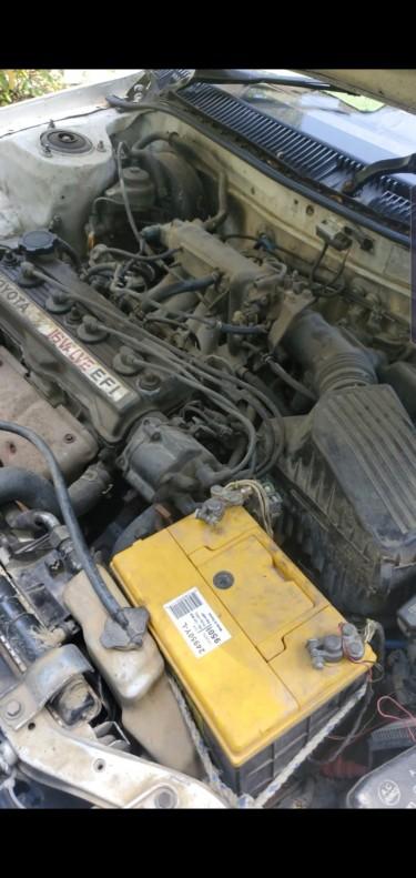 AE 1990 Toyota Corolla (Flatty)
