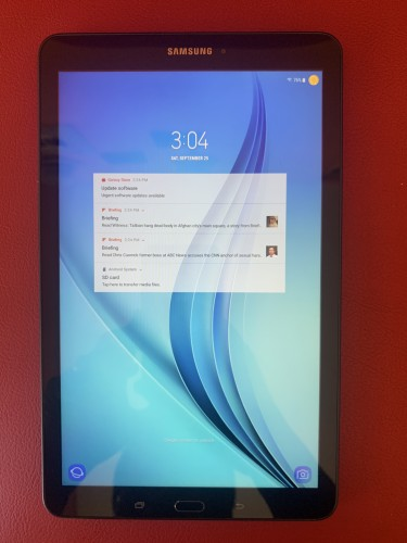 """New 9.6"""" Samsung Galaxy Tab E With 16GB Storage +"""