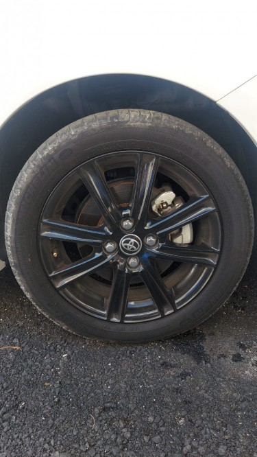 16 Inches Rim & Tyre