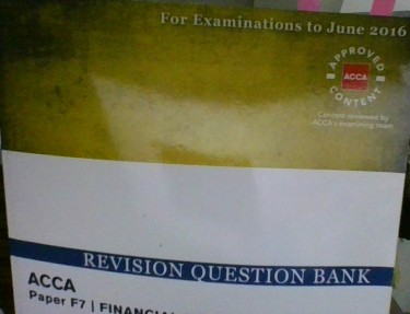 ACCA   Financial Reporting Revision Book (used)