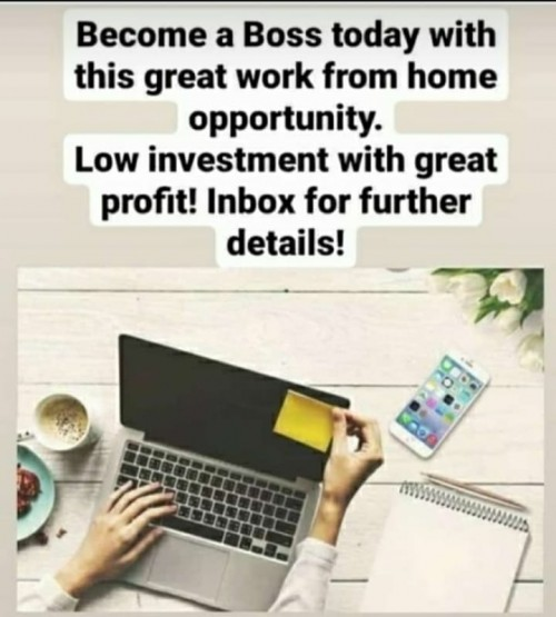 Work From Home Be Your Own Boss