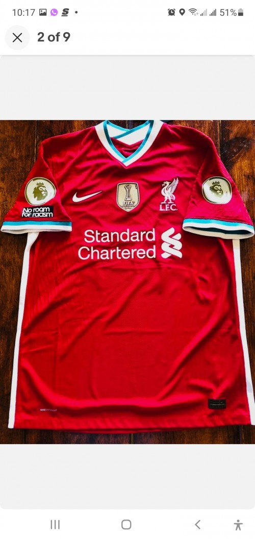 LIVERPOOL 20/21 NIKE AUTHENTIC XL