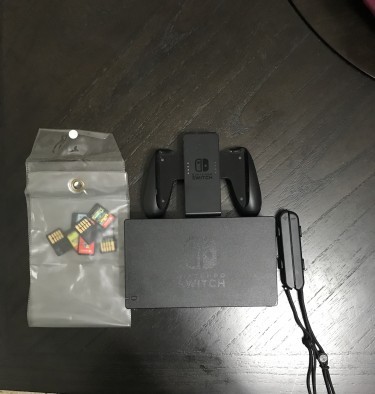 Nintendo Switch, 7 Games, Rb Button Not Function