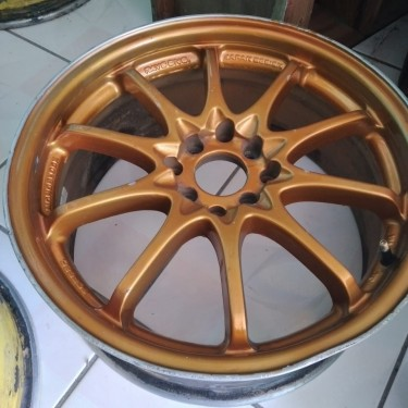 17 Inch Gold Rims