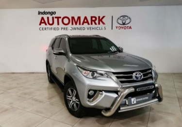 Toyota Toyota Fortuner 2.4gd-6 R/b A/t