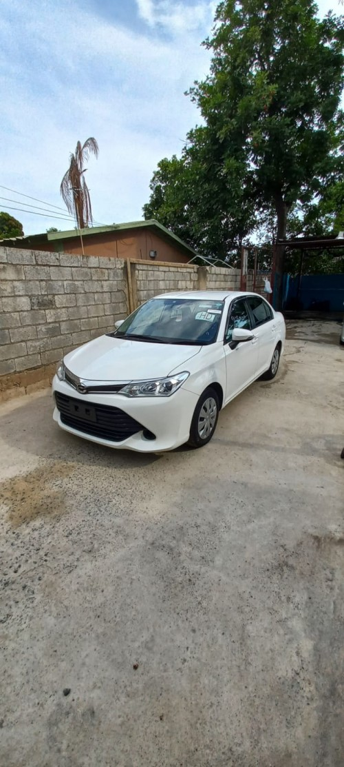 2016 Toyota Axio Just Imported