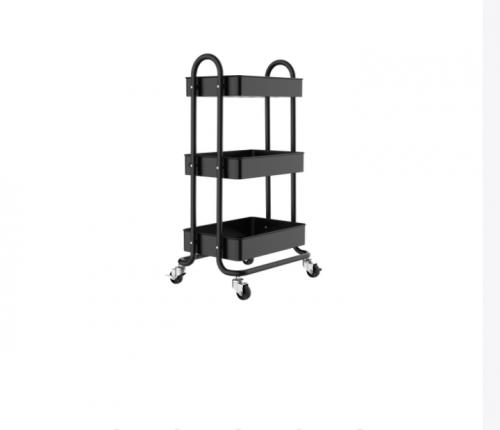3 Tier Shelving Unit/Trolly Cart 3 Levels