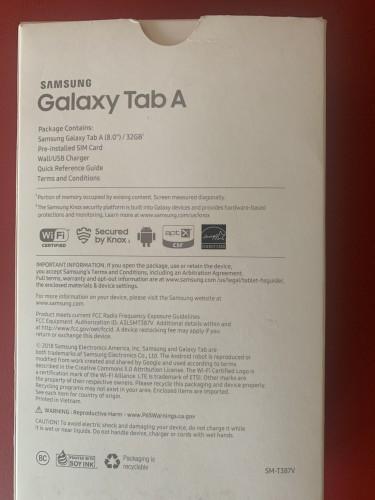 New 4G LTE Sim Unlocked 2018 Samsung Galaxy Tab A