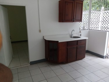 1 Br, 1 Bath, Small Living Room, Kitchen & Dining