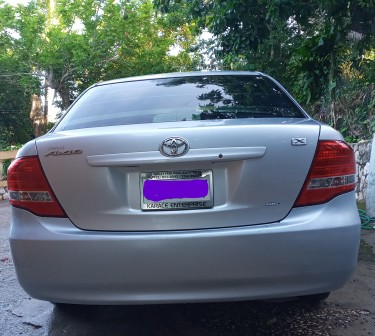 2010 Toyota Axio 4WD  Silver